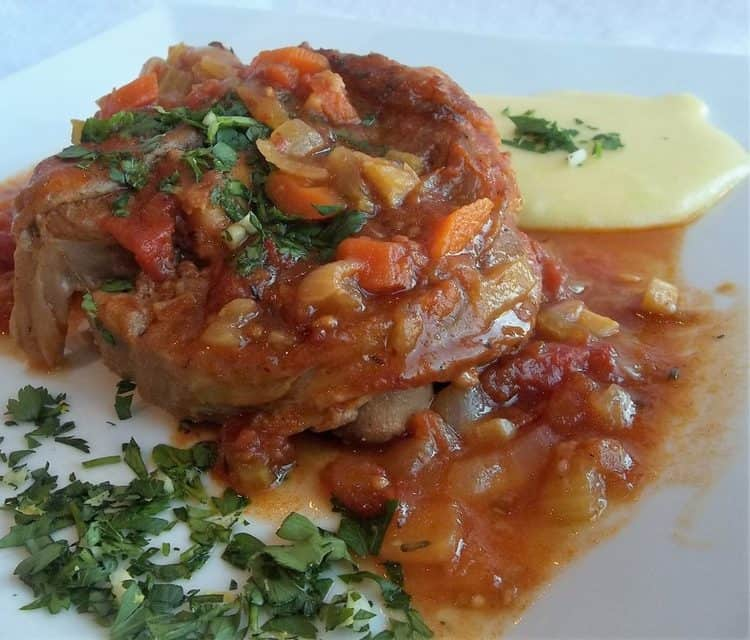 Veal Osso Buco with Gremolata