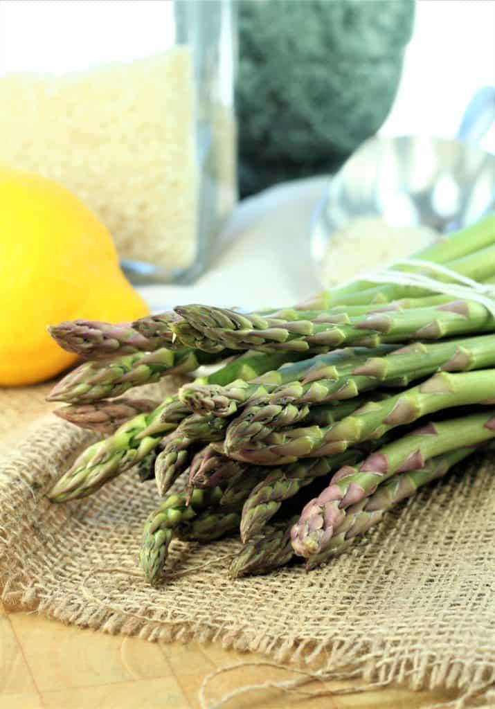 asparagus for Lemony Asparagus Risotto