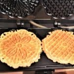 Pizzelle Cannoli with Ricotta Filling