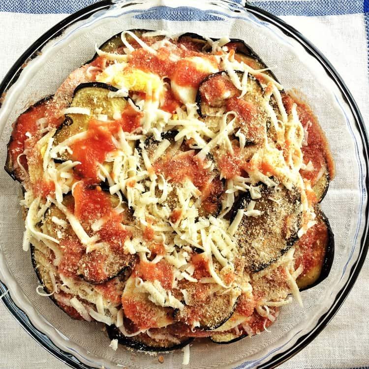 Mom's Eggplant Parmigiana