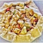 Apple Rhubarb Crostata