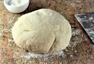 finished gnocchi dough