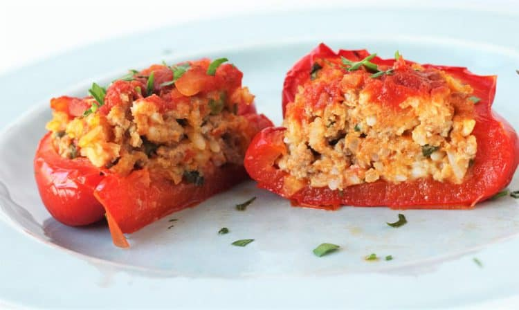 The Best Stuffed Peppers