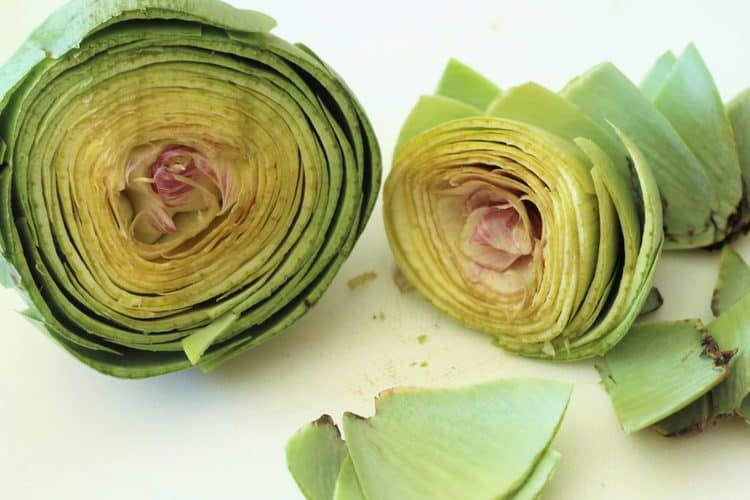 how to trim artichokes