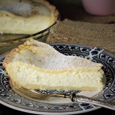 Mom's Sicilian Ricotta Pie