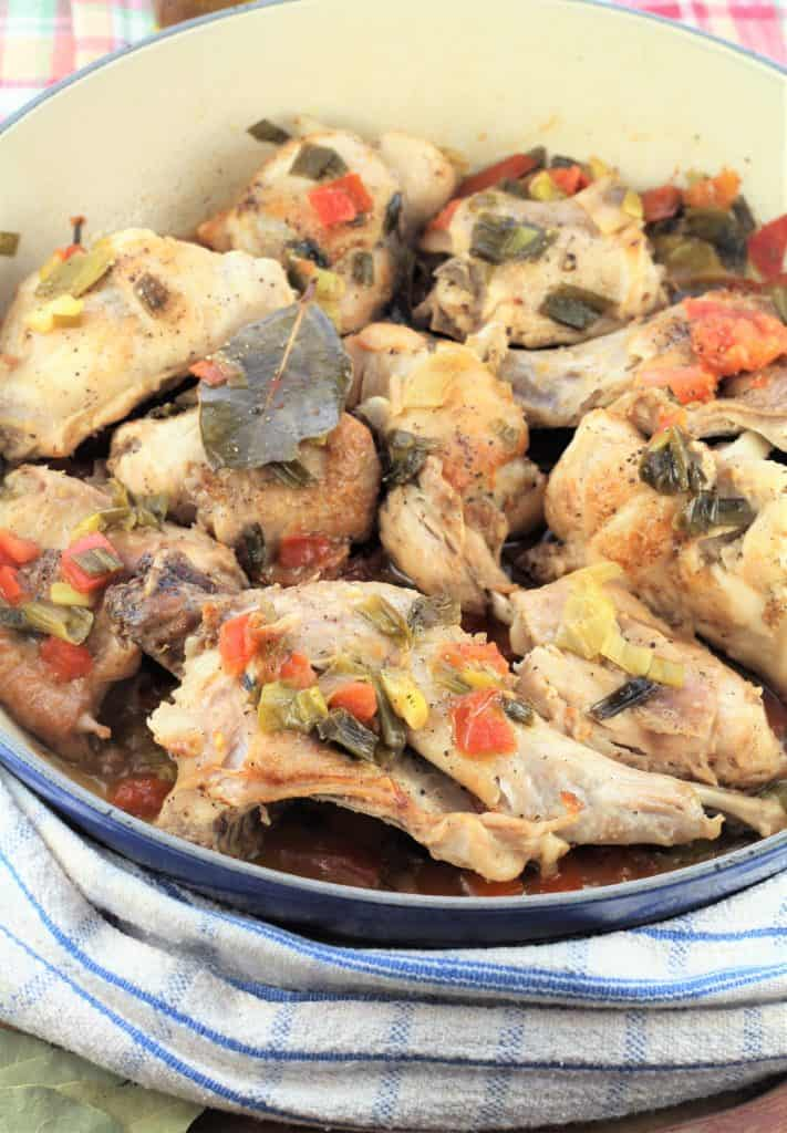 Coniglio in Agrodolce (Sweet and Sour Rabbit)