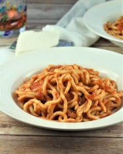 Homemade Sicilian Maccaruna