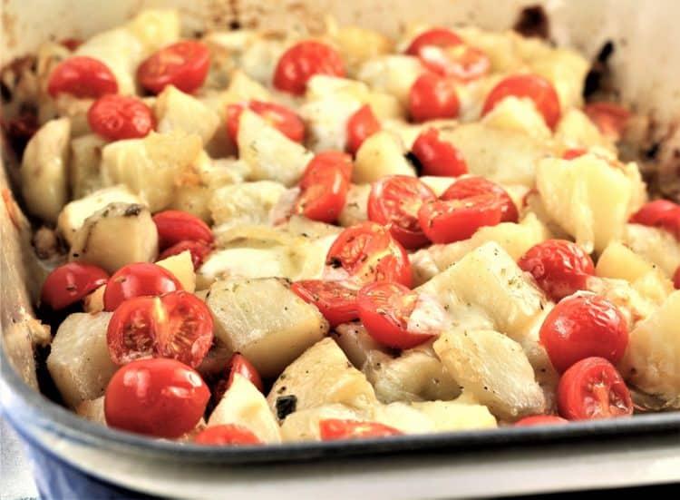 Baked Trapani Style Potatoes Vastase