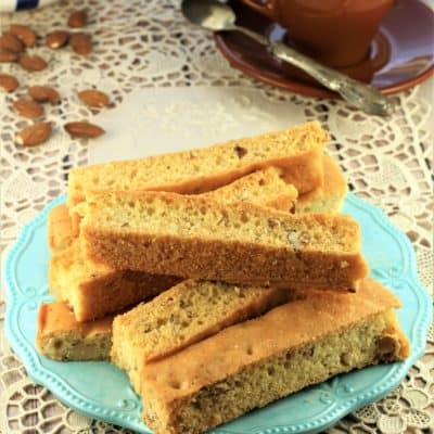 Sheet Pan Almond Biscotti