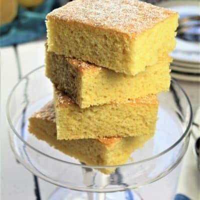 Lemon-Vanilla Snack Cake