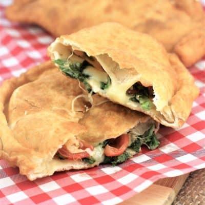 Pitoni Messinesi (Sicilian Fried Calzone)