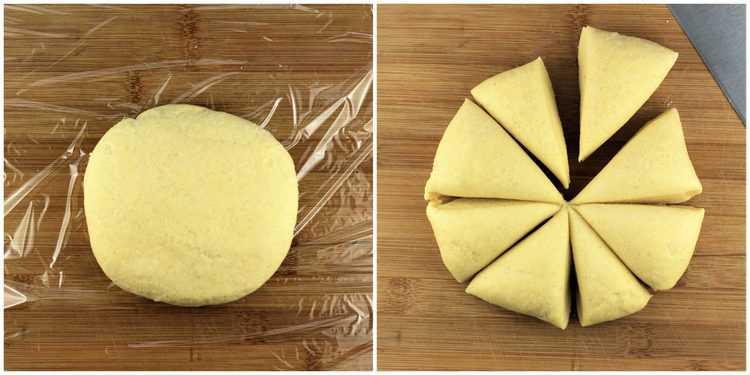semolina flour pasta dough