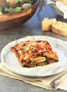 mom's eggplant parmigiano