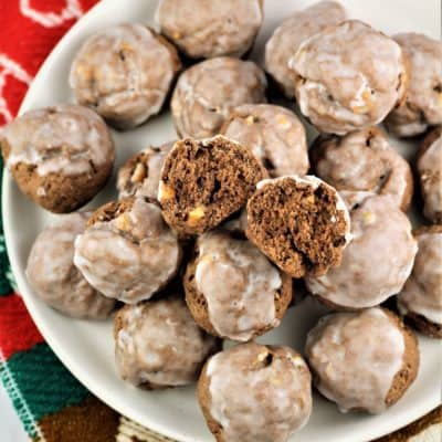 Tetù (Sicilian Chocolate Spice Cookies)
