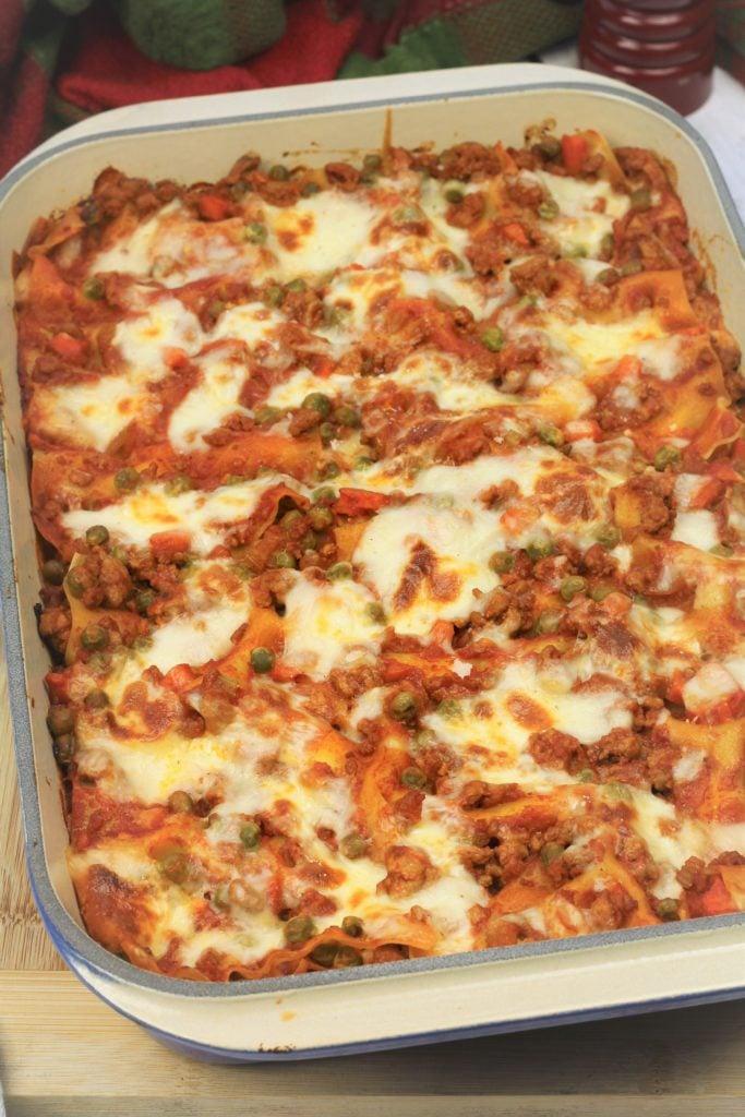 baked Sicilian Lasagna